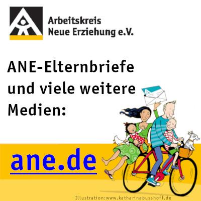 Webseite Arbeitskreis Neue Erziehung Ev